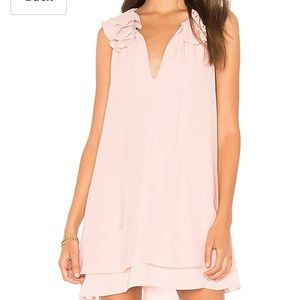 Dresses & Skirts - Pink dress with ruffles